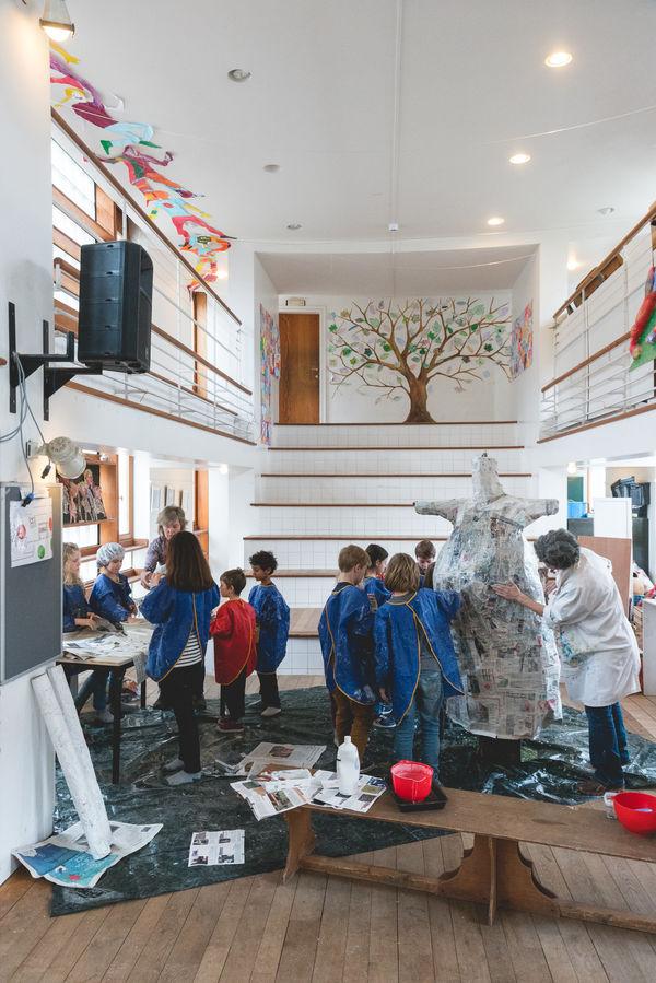 L'Autre Ecole, Auderghem © 2018 Jonathan Ortegat
